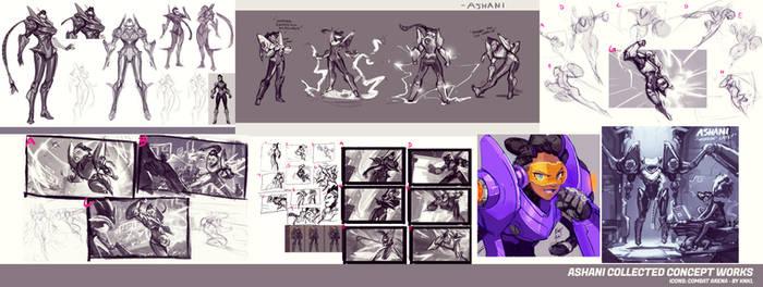 Ashani - Icons Combat Arena - Concept Artworks
