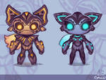 Afi and Galu - Official Concept Art!