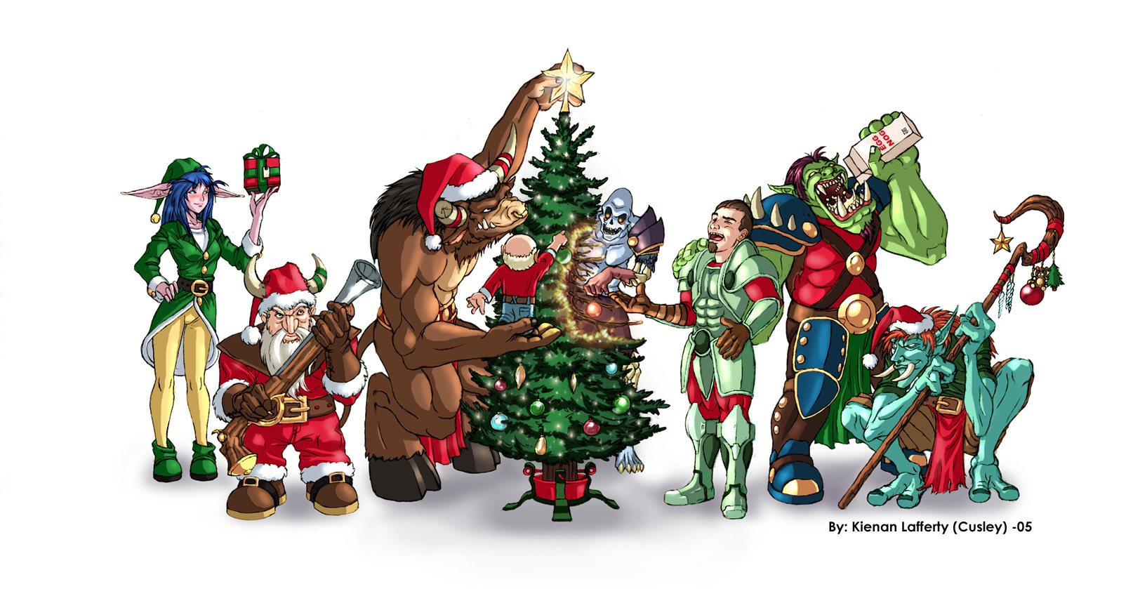 Wow Christmas.Wow Christmas 108 By Knkl On Deviantart