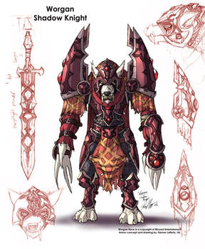 Worgen Shadow Knight 108