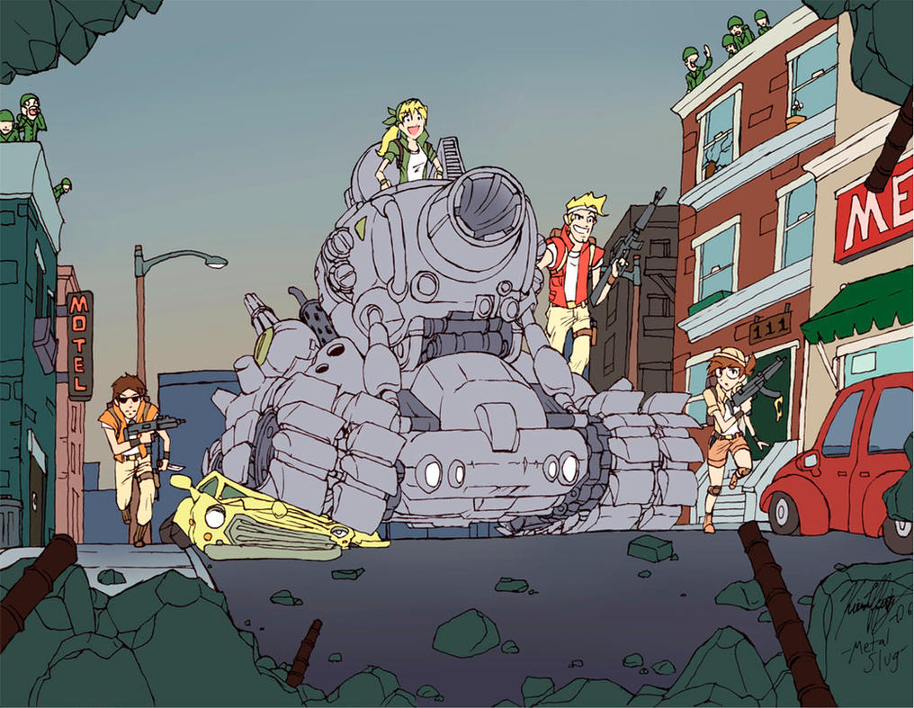 Metal Slug--- by Knockwurst