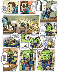 WoW Comic Page01 by KNKL