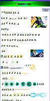 perfect cell sprite sheet ULSW by orumaitoobeso