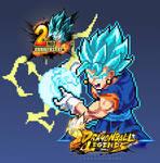 Dragon Ball Legends 2anniversary pixelart