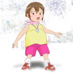 digimon Hikari  weight gain 1