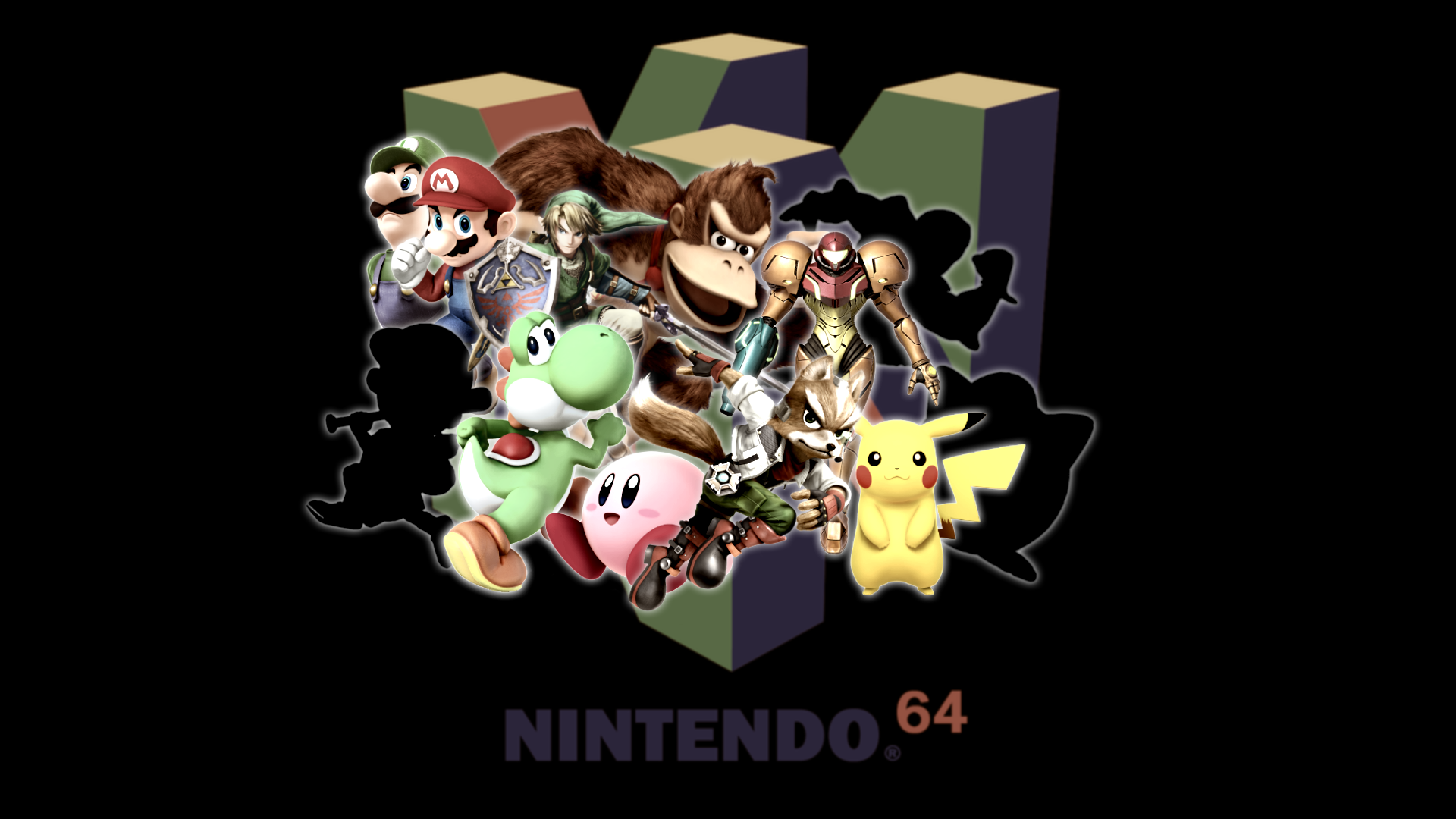Super Smash Bros Desktop Background 1920x1080 By Cookedemil On