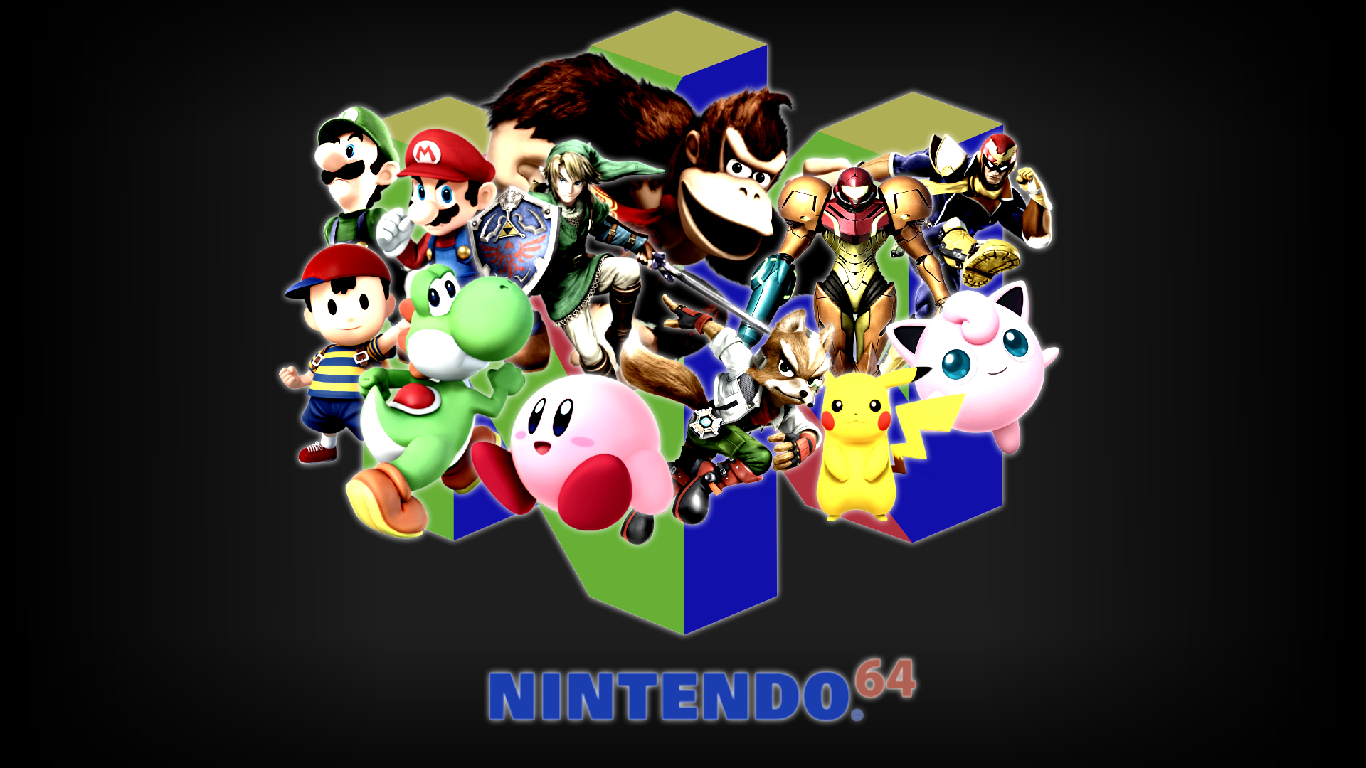 Super Smash Bros Wallpaper Vibrant 1920x1080 By Cookedemil On