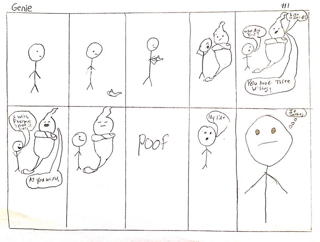 Genie (Comic #1) by MisterytheWere-Hog