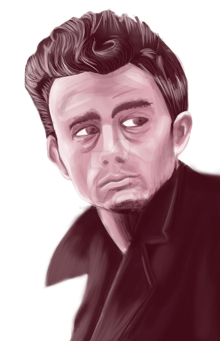 James Dean by SenatorHeart
