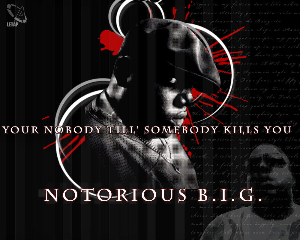Notorious B.I.G. by abombletap