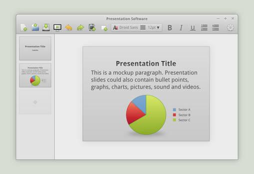 Presentation Software Concept