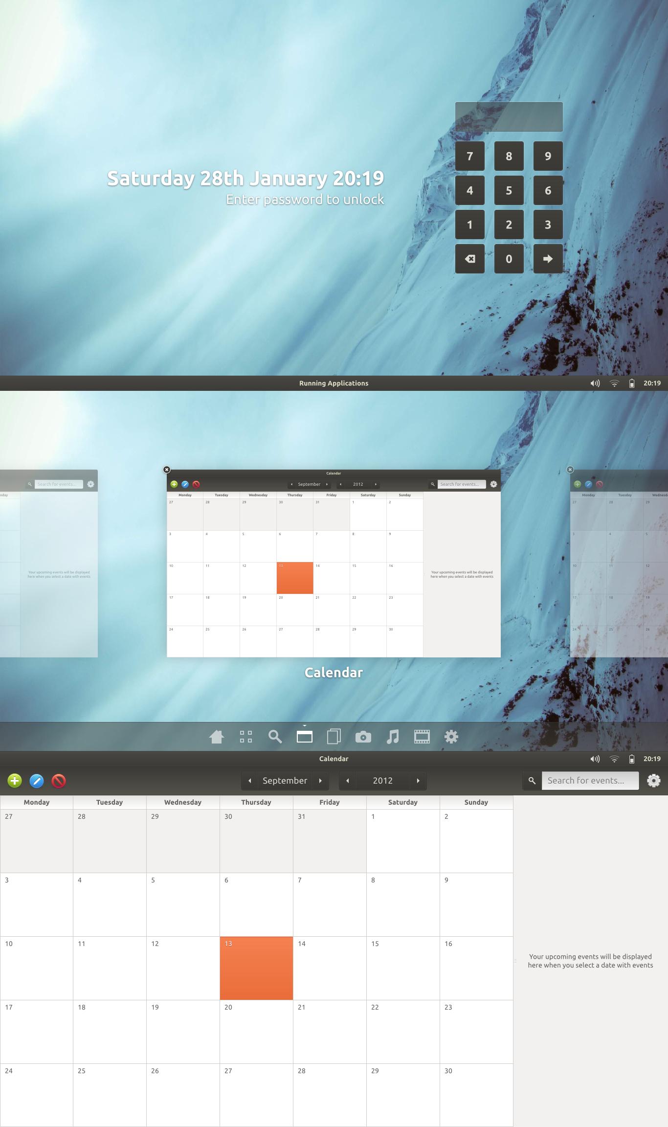 Ubuntu Tablet Concept