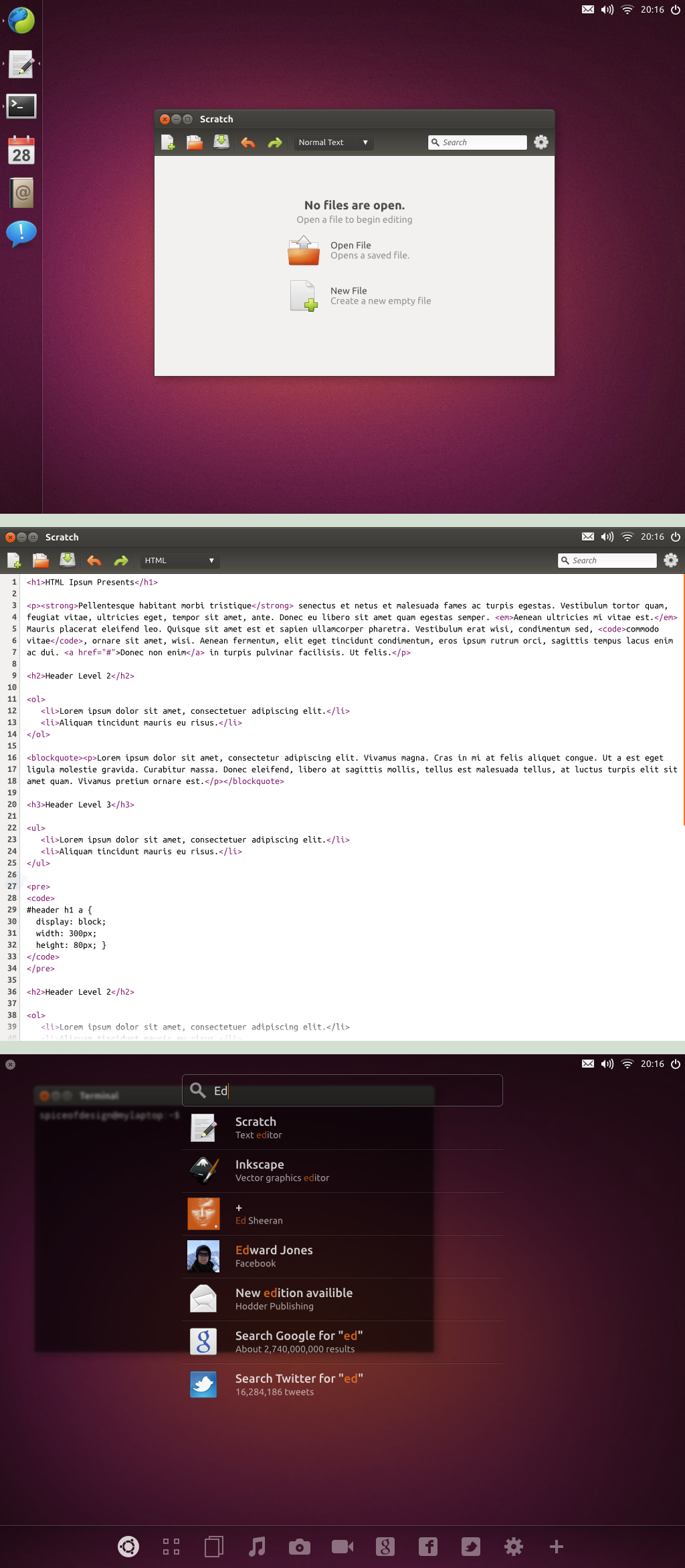 Ubuntu Concept by spiceofdesign