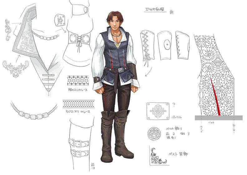 Ezio_Florentine Noble Attire_f by kurono16