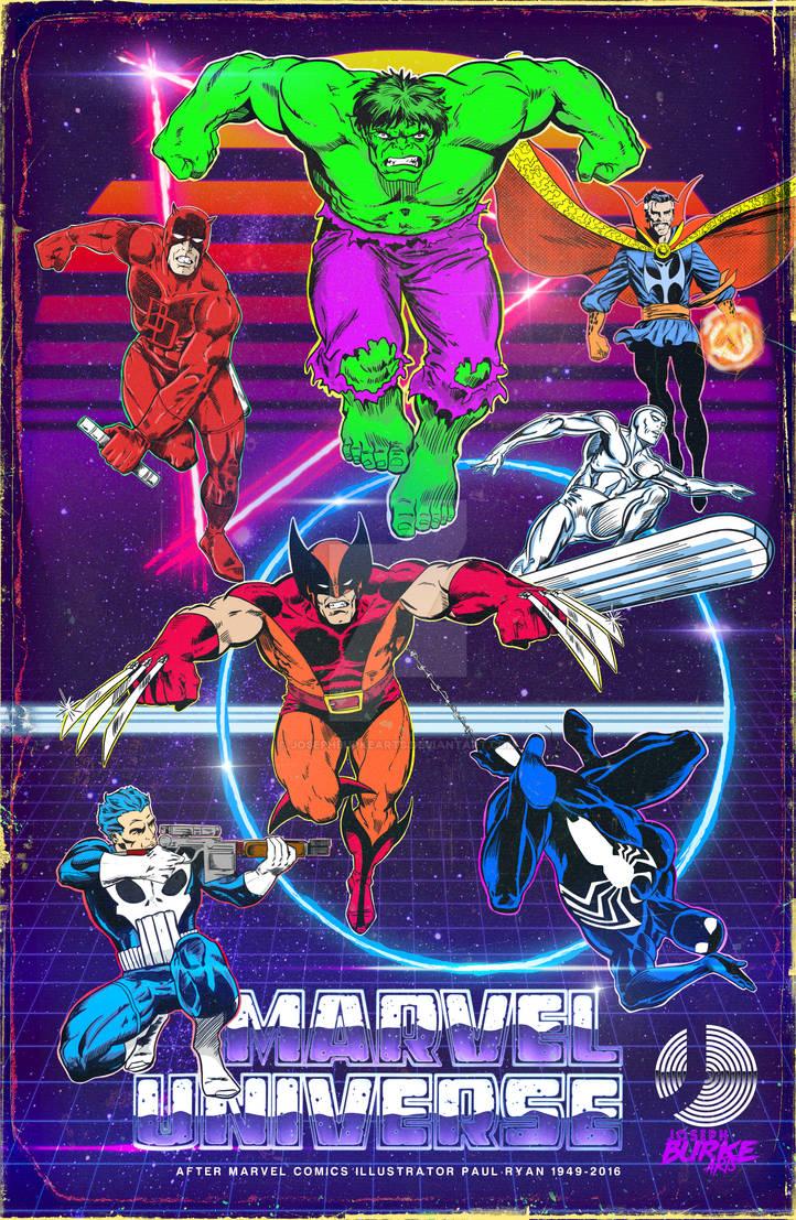 Retro Marvel Universe