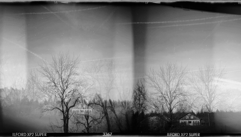 holga diptych bw by Ungeheuer