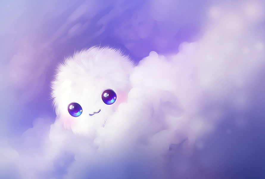 kawaii cute wallpaper by aleksakura on deviantart