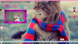 My Cute Desktop November  =^-^= by AlekSakura