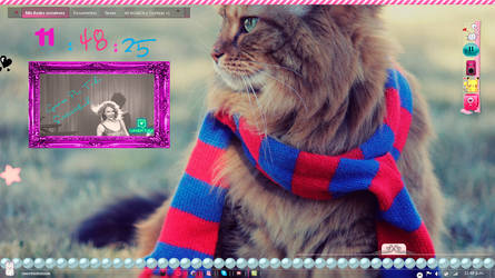 My Cute Desktop November  =^-^=