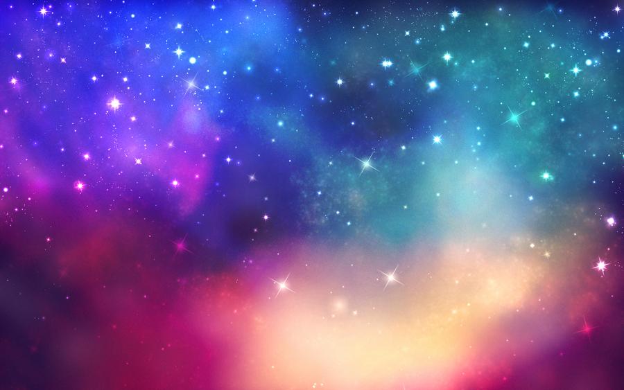 Amazing galaxy texture wallpaper by AlekSakura