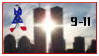 9-11 Towers Stamp by Loren-MacGregor