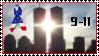 9-11 Towers Stamp by Loren-MacGregor