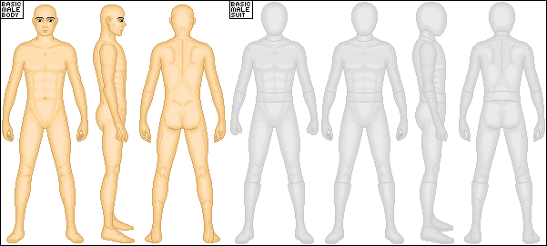Basic Male Template by Taiko554