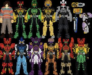 Eiji Hino, Kamen Rider OOO by Taiko554