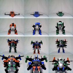 Interchangable Lego Mecha by Taiko554