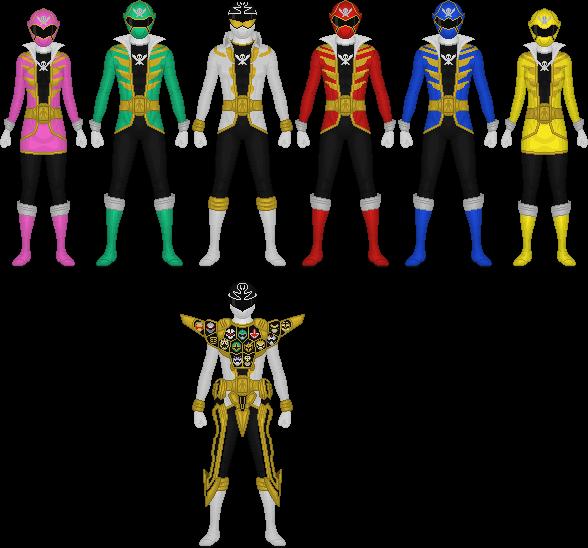 Kaizoku Sentai Gokaiger by Taiko554 on DeviantArt