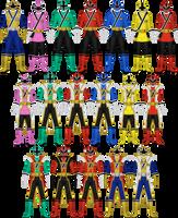 Samurai Sentai Shinkenger by Taiko554