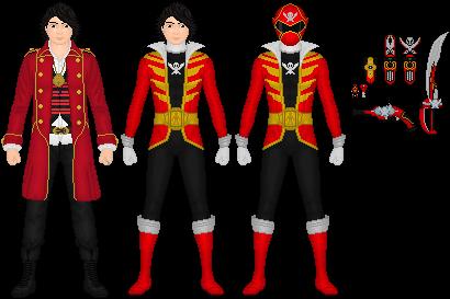 Captain Marvelous, Gokai Red by Taiko554 on DeviantArt