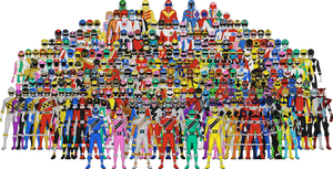 All of Super Sentai