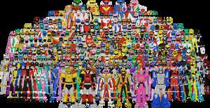 All of Super Sentai