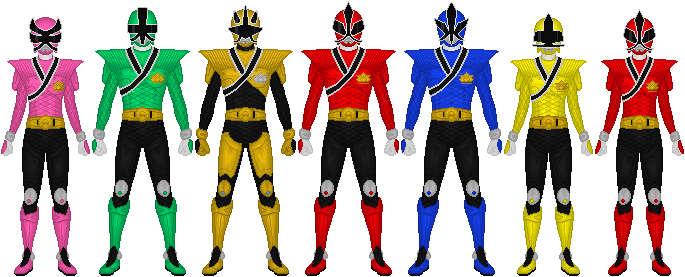 Power Rangers Samurai Mega Mode By Taiko554 On Deviantart