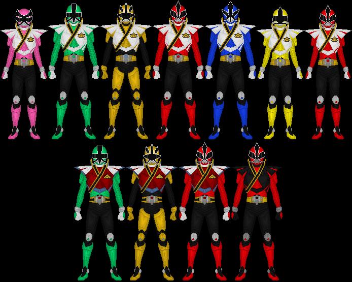 power rangers super samural