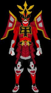 Power Rangers Samurai Battlized Red Ranger by Taiko554