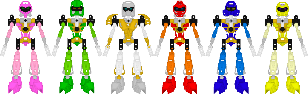 Bionicle Sentai Toaranger By Taiko554 On DeviantArt