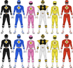 Mighty Morphin Power Rangers: The Movie, pt 1