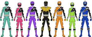 More Kyoryugers!