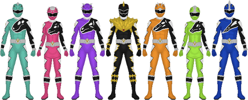 More Kyoryugers! by Taiko554