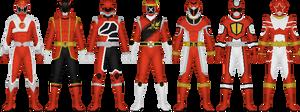 Sentai Designs That Never Were