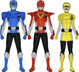 Go-Busters Powered Custom by Taiko554
