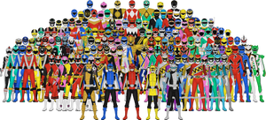 All Power Rangers