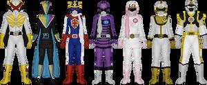 Extra Ranger Project, Set 1