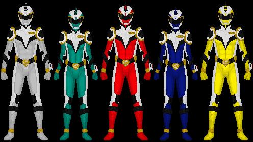 Requested: Uchuutansa Sentai Seiunger by Taiko554 on DeviantArt