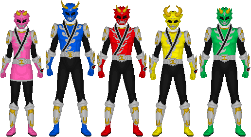 Requested: Bakuhatsu Sentai Shinseiger by Taiko554 on