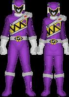 Kyoryu Violet by Taiko554