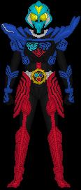 Kamen Rider Poseidon by Taiko554