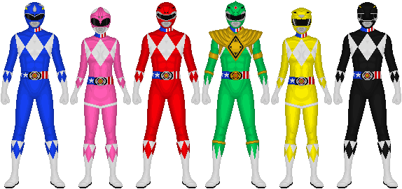Akibaranger Season 2, Powerful Rangers by Taiko554